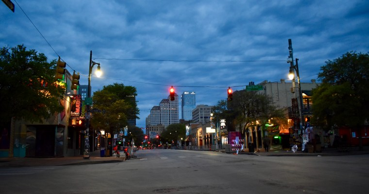 Early Morning in ATX During SXSW