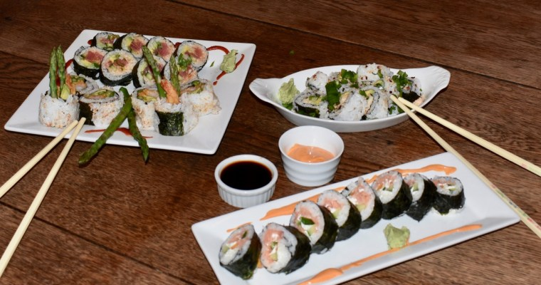 Date Night Sushi – We Tried It  at Home