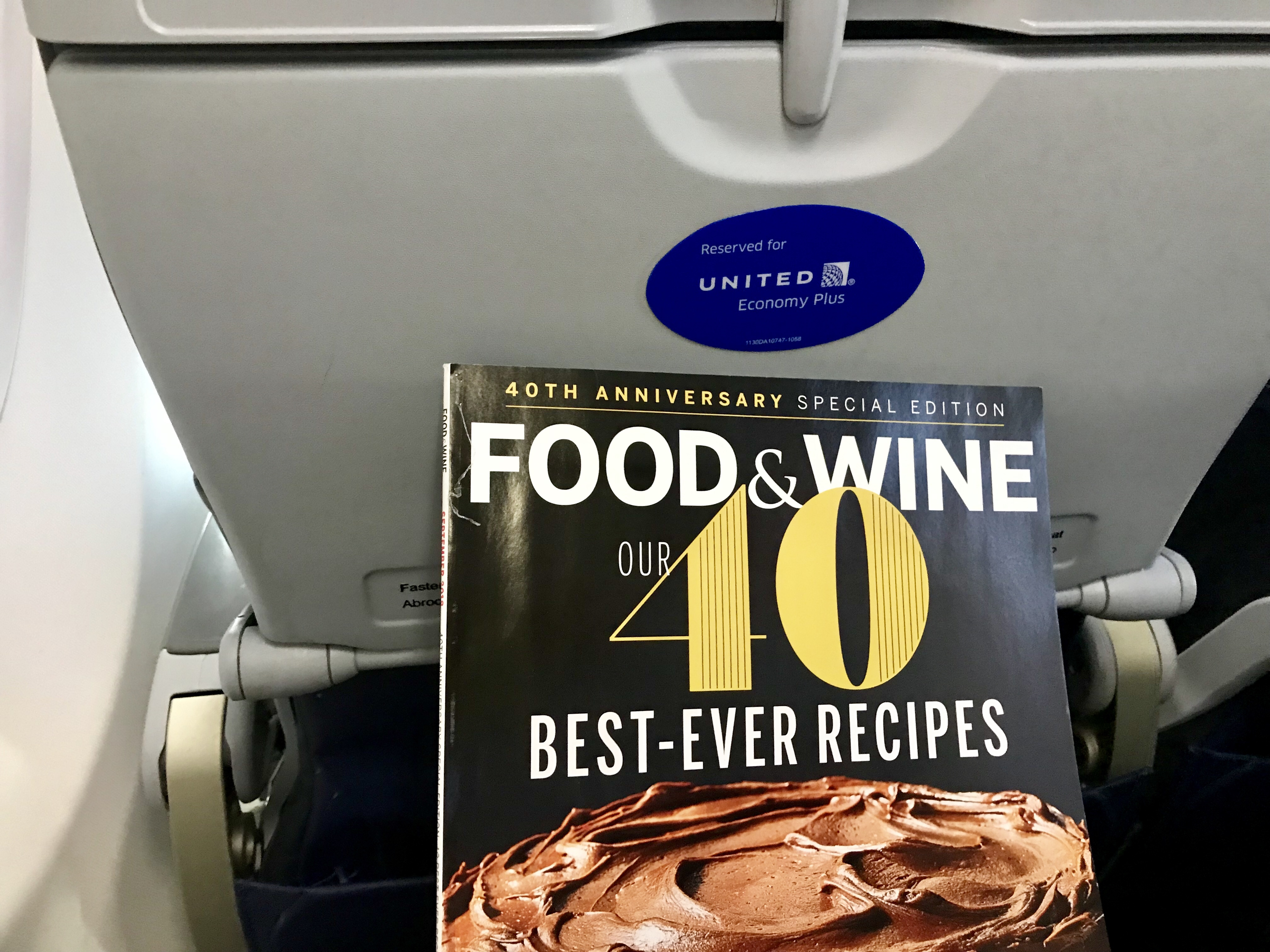 Haiku: Happy on a Plane with a Food Magazine