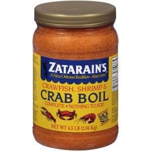 Zatarain's crab boil