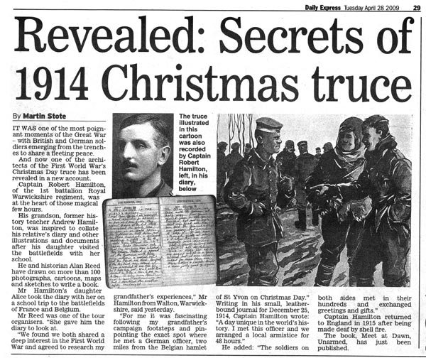 The Spirit of the Season: Revisiting the Christmas Day Truce of WW1