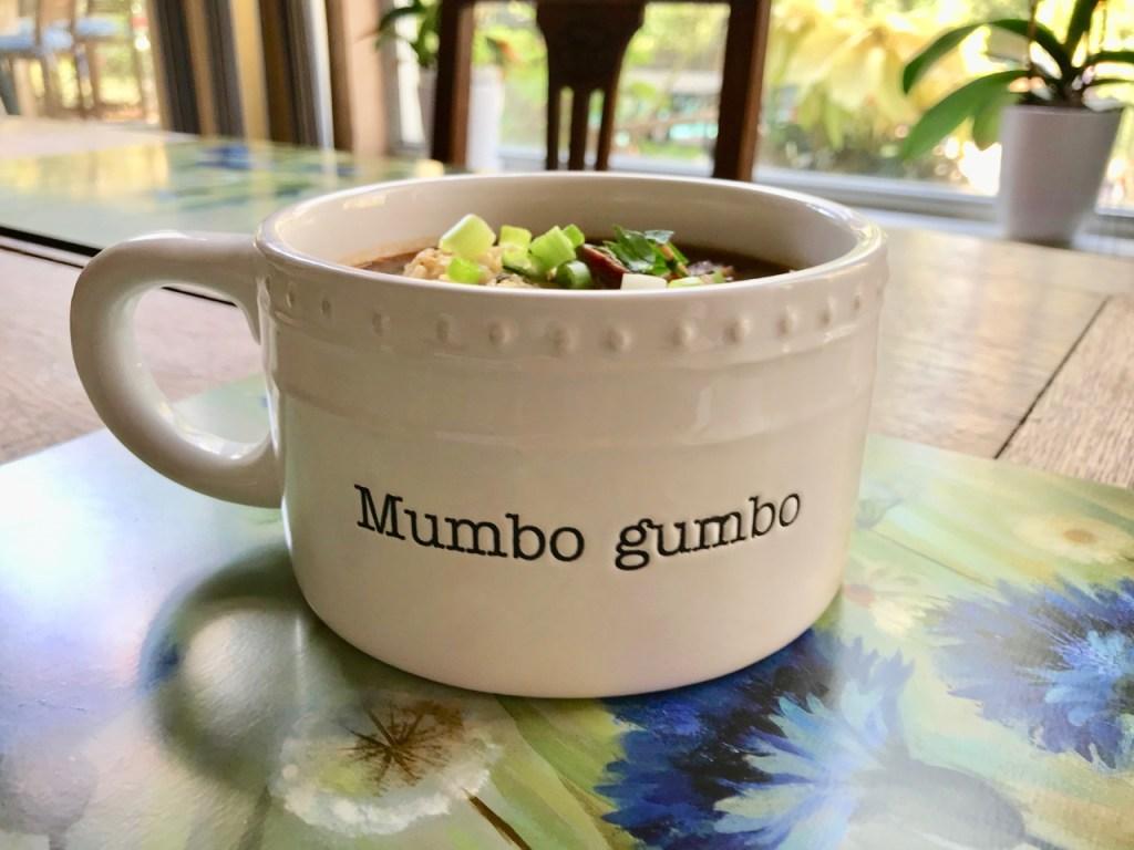Gumbo in Mumbo gumbo bowl