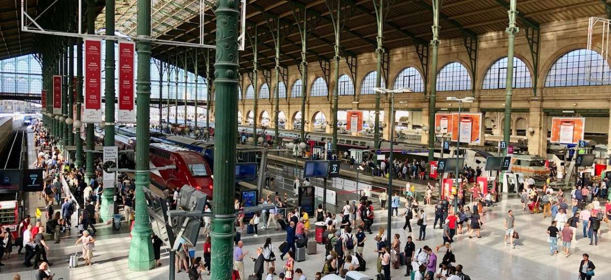 A Year Ago Today: Paris Gare du Nord to London St. Pancras