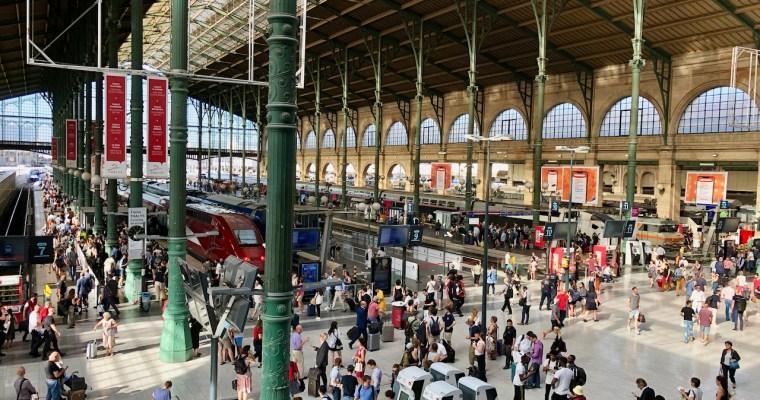 A Year Ago Today: Paris Gare du Nord to London St. Pancras