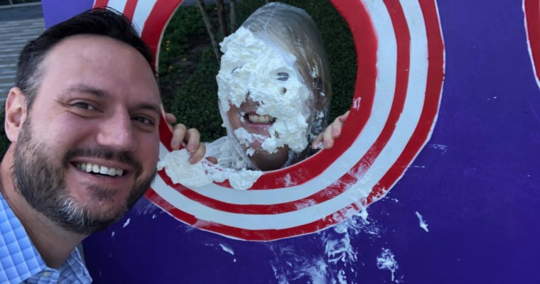 Lessons Learned from a Pie in the Face