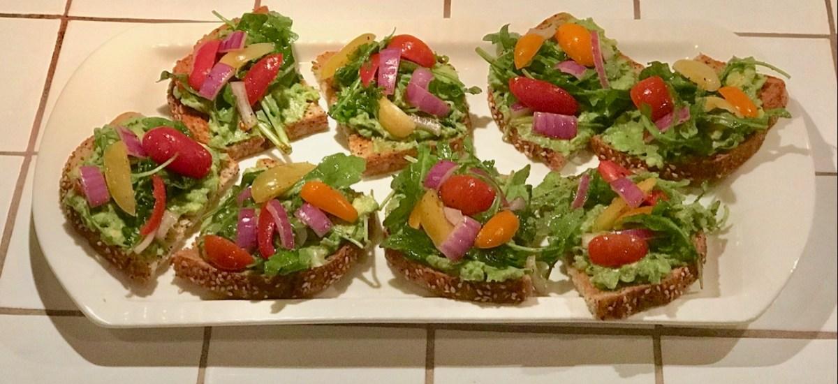 Found Recipe: Bobby Flay's Avocado Toasts (Don't be a hater)