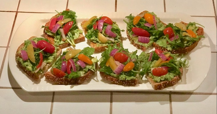 Found Recipe: Bobby Flay's Avocado Toasts (Don't be a hater)