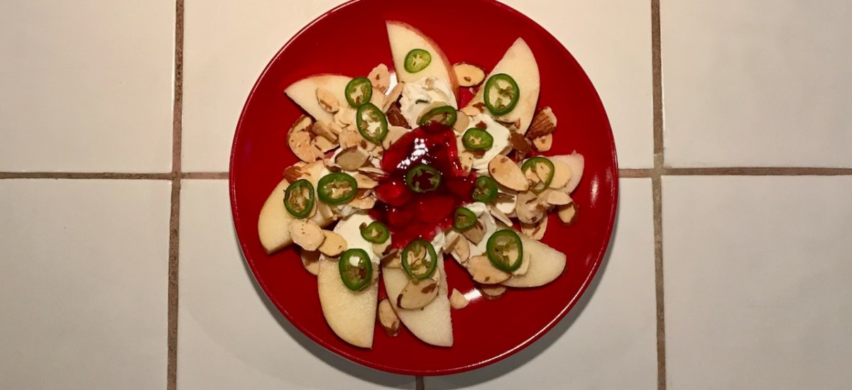 A Savory-Sweet Apple Appetizer, and a Formula for the 5-Minute Appetizer