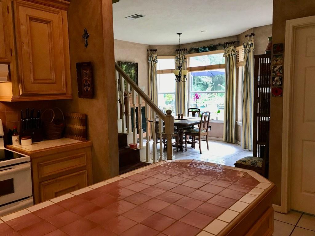 Glover Gardens Kitchen Stairway