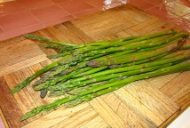 First Asparagus Harvest