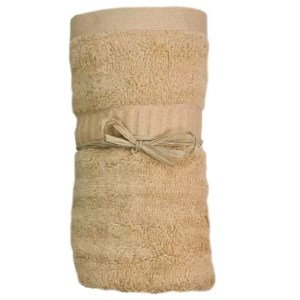 Bamboo Hand Towel Sandstone from Gloves and Sanitisers