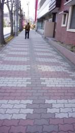 真田紐をデザインした道。
