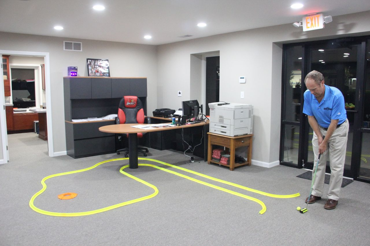 Office Golf Game Ideas  Glowgear night golf