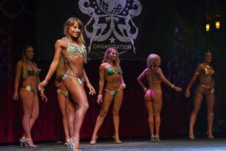 Deni Kirkova on stage at Miss Galaxy Universe - Bikini Girls Diary (by Lowell M. / Galaxy Universe Organisation)