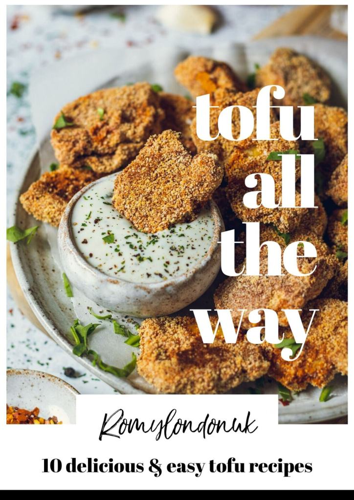 Tofu All The Way by Romy of Romy London