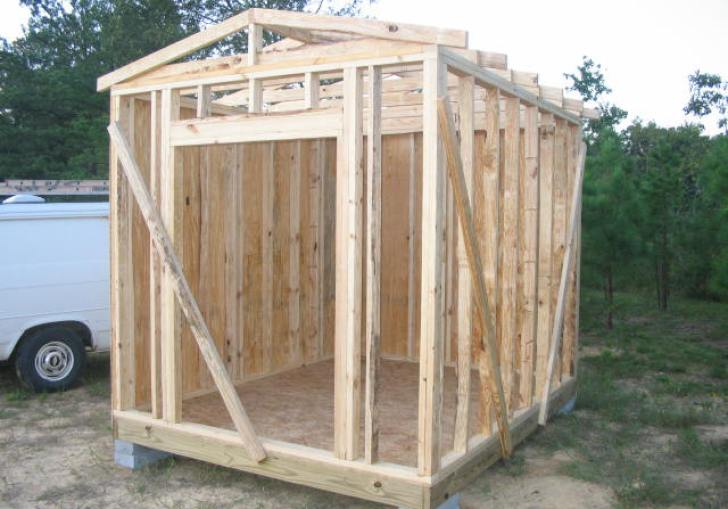 Best Layouts For Backyard Shed 8 Ft By 10 Ft