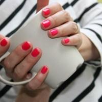 Semilac 103 Elegant Raspberry - soczysta malina :) + Blogujemy linkujemy #18