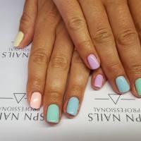Pastelowy manicure hybrydami Semilac + trick jak przerobić kolor lakieru :)