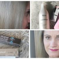Kolejne farbowanie po rozjaśnianiu, zielone włosy, korektor koloru CBC, OLEO&CONTROL i o tym, że w życiu nie zawsze wszystko się układa!