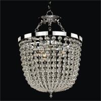 Round Smooth Crystal Chandelier / Semi Flush Mounts ...