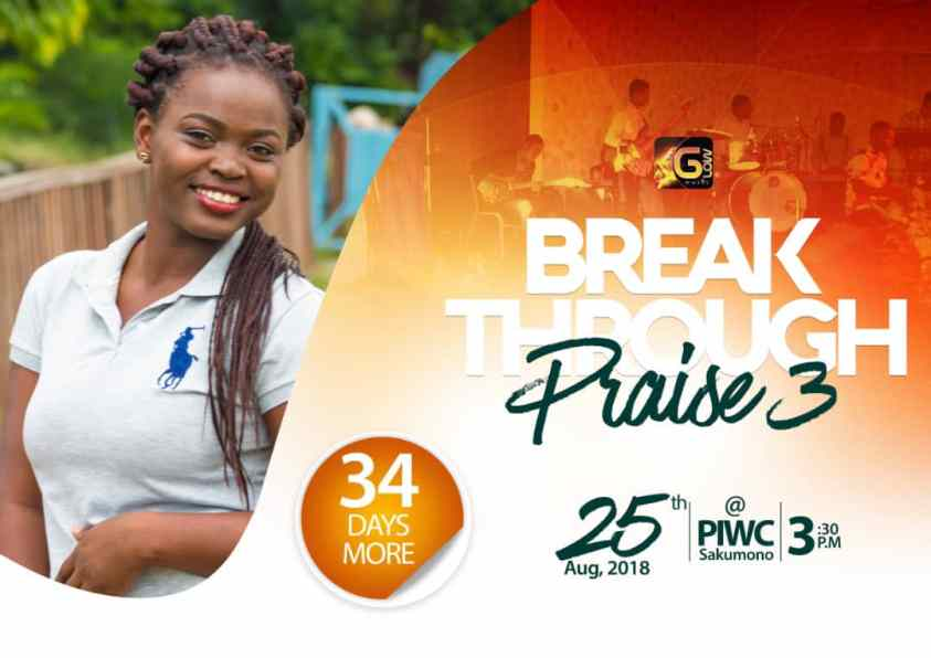 Breakthrough Praise 3 Day 34 countdown - Glow Music Ministry