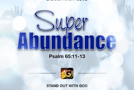 Month of Super Abundance at Glow Music Ministry