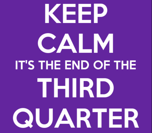 keep calm third quarter