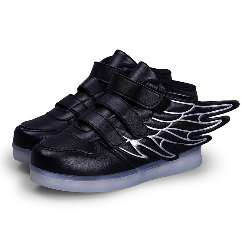 Rocket Boots Black for Kids – High Top