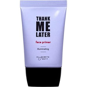 Illuminating Makeup Enhancing Base Primer for Face: Elizabeth Mott Thank Me Later Face Illuminating Primer for Normal to Dry Skin-Pore Minimizer, Balancing & Brightening-Cruelty Free Cosmetics, a water-based makeup