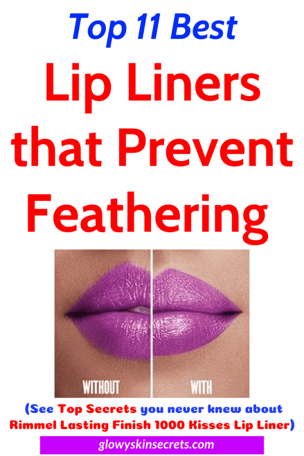A curated list of the best lip liner to prevent feathering. best lip liner to prevent lipstick bleeding