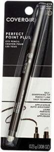 COVERGIRL Perfect Point Plus Eyeliner, Grey Khaki. The best cruelty free eyeliner, best self sharpening eyeliner