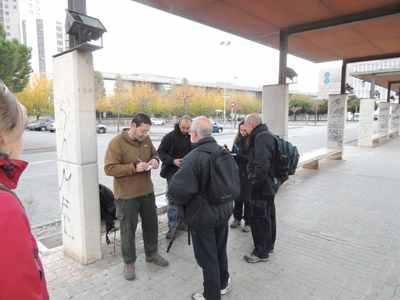 Grupo Local SEO Barcelona, coordinando zonas antes de empezar el censo de diciembre 2013