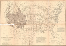 USA Topographic Plan (1881)