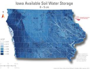 Available Soil Water Storage