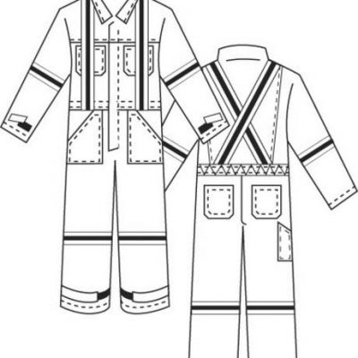 North Safety Products Coveralls