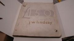 Jack Lindsay travel diary (1950s)
