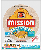 Mission Carb Balance Soft Taco Flour Tortilla