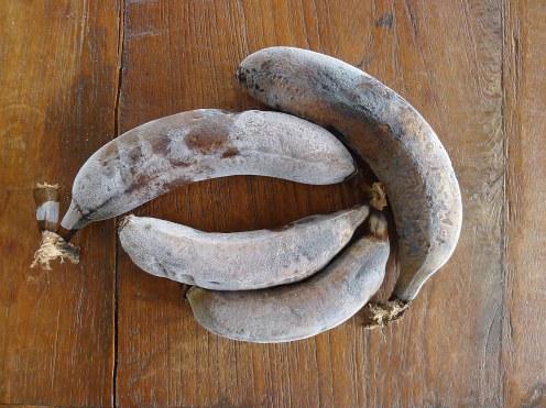 gefrorene Bananen