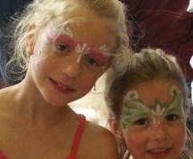 face painting, Kinderschminken