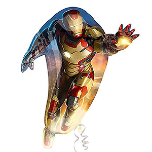 iron-man-Luftballon