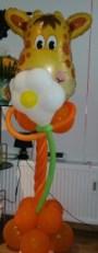 Giraffen Ballonfigur