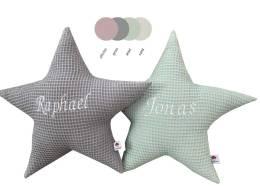 Sternenkissen aus Waffelpique Farbuebersicht
