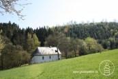Einsiedelei bei Malmedy - in der Stille und Einsamkeit des Waldes lebt dort bis heute ein Mönch.