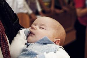 Baby vom Kollegen