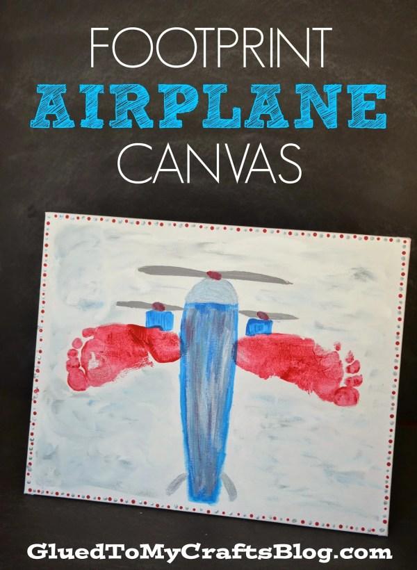 Airplane Footprint Craft