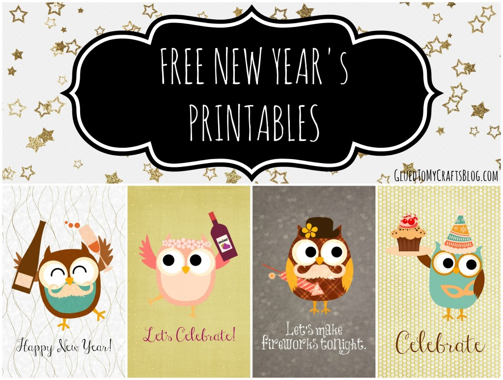 Free New Year S Printables