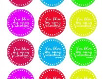 Valentine Bubble Favors - Gift Idea & Free Printable