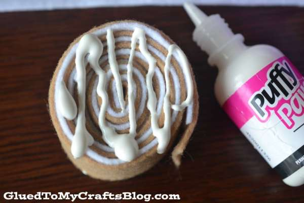 Cinnamon Rolls & Spaghetti - Felt Pretend Play Set