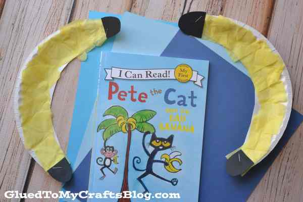 Paper Plate Banana {Kid Craft}