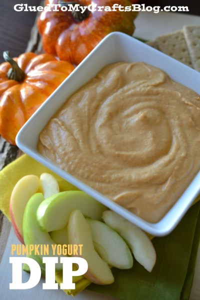 Pumpkin Yogurt Dip - Recipe